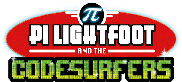 image of pi lightfoot code surfers logo